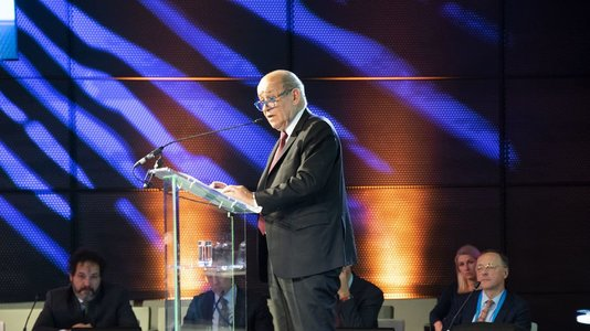 Speech by Minister Jean-Yves Le Drian at the conference of Dutch (...)