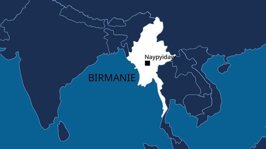 Birmanie – Signature de l'accord tripartite