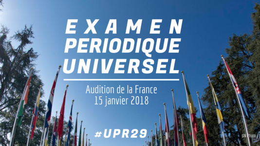 Examen périodique universel - Audition de la France