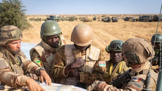 France's action in the Sahel
