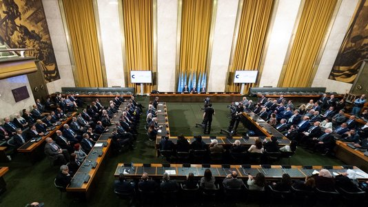 Syria : launch of the Constitutional Committee in Geneva